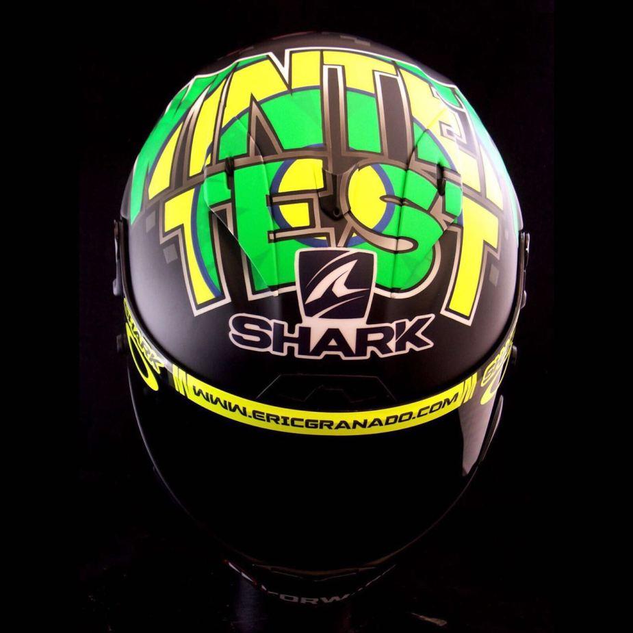 Capacete Shark Race-R Pro do Eric Granado Winter Test 2018 - 4