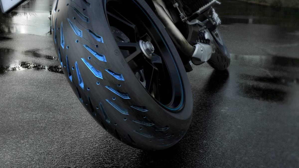 Pneu Michelin Road 5 2018 - 3