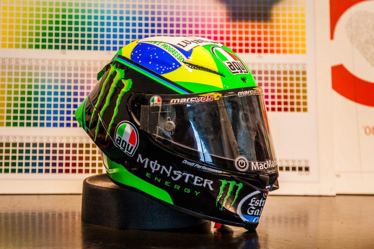 Novo Capacete AGV Pista GP R Franco Morbidelli 2018