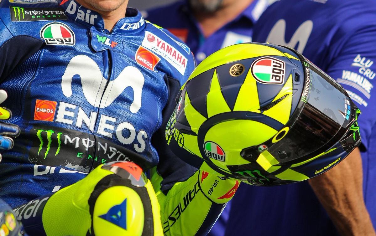 Capacete AGV PistaGP R Valentino Rossi 2018 - 8