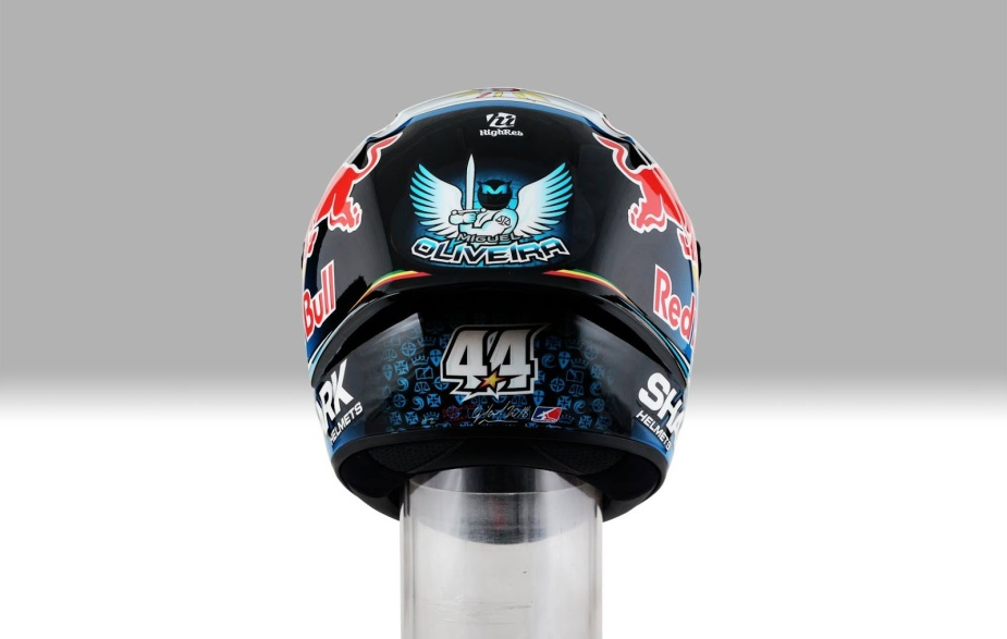 Capacete Shark Race-R Pro GP Miguel Oliveira 2018 - 2