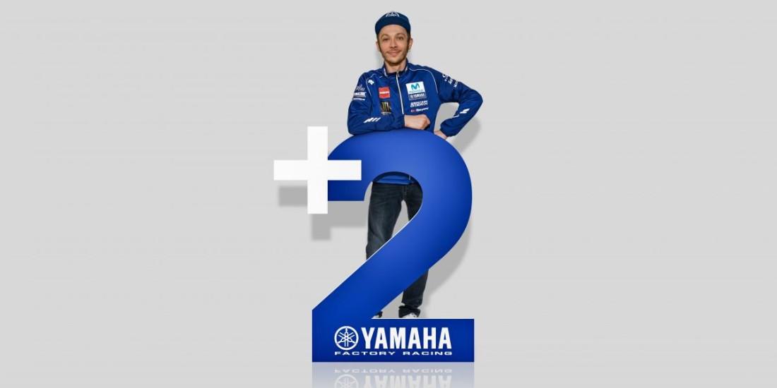 Valentino Rossi renova com Yamaha por 2 anos