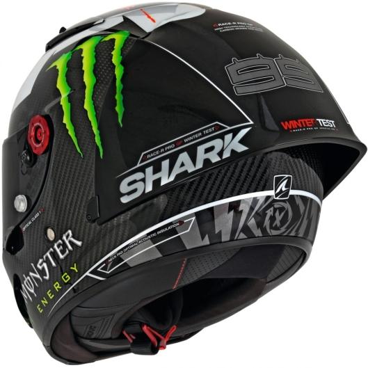 Capacete Shark Race-R Pro GP Jorge Lorenzo Winter Test Edição Limitada - 5