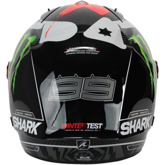 Capacete Shark Race-R Pro GP Jorge Lorenzo Winter Test Edição Limitada - 8